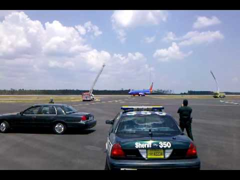 Southwest flight makes emergency landing in Panama City, Florida after weather scare
