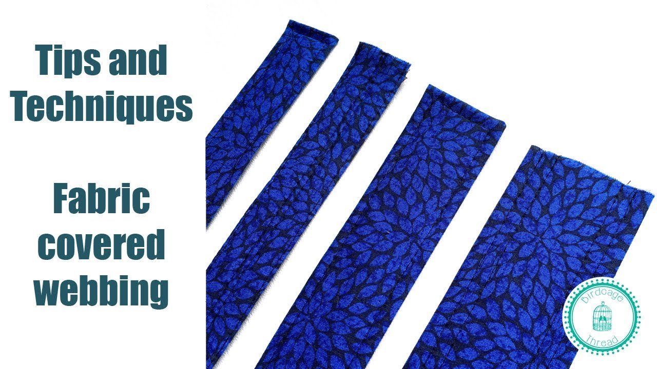 Fabric covered webbing