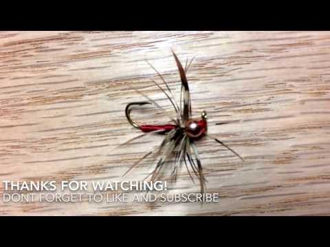 How To Tie An Easy Ice Fly