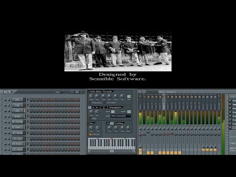 Cannon Fodder theme played on Fruity  Loops (rmx) [HD]