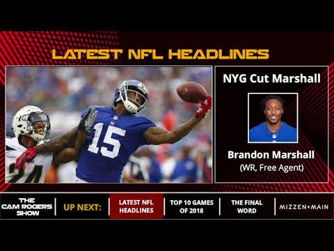 The Cam Rogers Show: NBA Playoffs, Giants Cut Brandon Marshall, 2018 NFL Schedule
