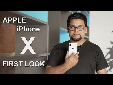 Apple iPhone X : First Look | Hands on | Price