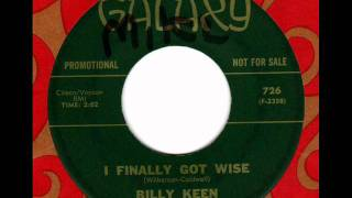 BILLY KEEN  I finally got wise  Northern Soul