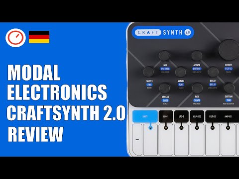 Modal Electronics CRAFTsynth 2 Review (Deutsch/German) - Wavetable Synthesizer | SYNTH ANATOMY