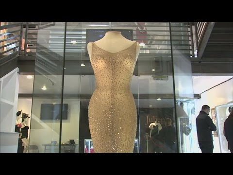 Marilyn Monroe's 'Happy Birthday, Mr President' dress for sale