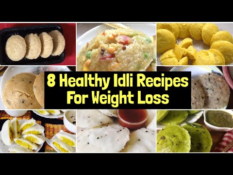 8 Healthy Idli Recipes For Weight Loss | Oats, Poha, Sandwich, Barley, Palak, Dhokla Idli Recipes