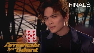 Shin Lim Magician Performs Jaw Dropping, Unbelievable Card Magic   America's Got Talent 2018
