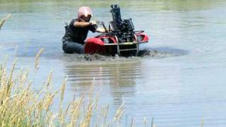 Testing Snorkels on my Grizzly 660