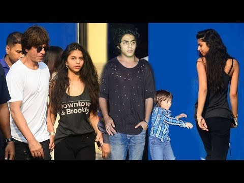 Full Video: Shah Rukh Khan With Full Family At Son AbRam Khan's School Annual Function