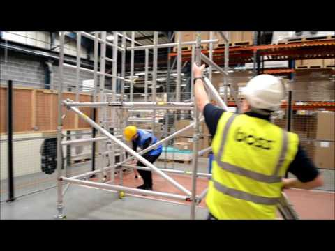 How To Build A Mobile Scaffold Tower