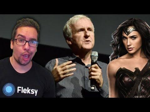 James Cameron Says Wonder Woman was 'A Step Backwards'