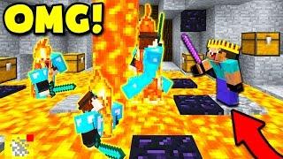 HACKING IN MINECRAFT BED WARS! (Minecraft TROLLING)