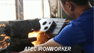 PROCESSING of APEC  HYDRAULIC IRONWORKER BLADES