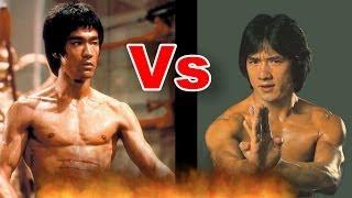 Bruce Lee vs. Jackie Chan six pack Training  | 李小龙 - 与- 成龙 | Farid Berlin
