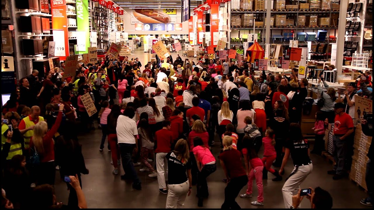 One billion rising ikea draper flash mob youtube for Ikea draper ut heures