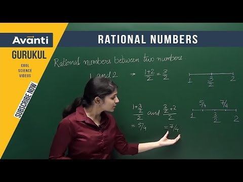Class 9 Mathematics - Finding Rational Numbers between 2 Rational Numbers