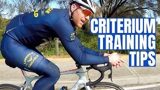 Criterium Training Tips (with local Crit Legend Tommy Nankervis)