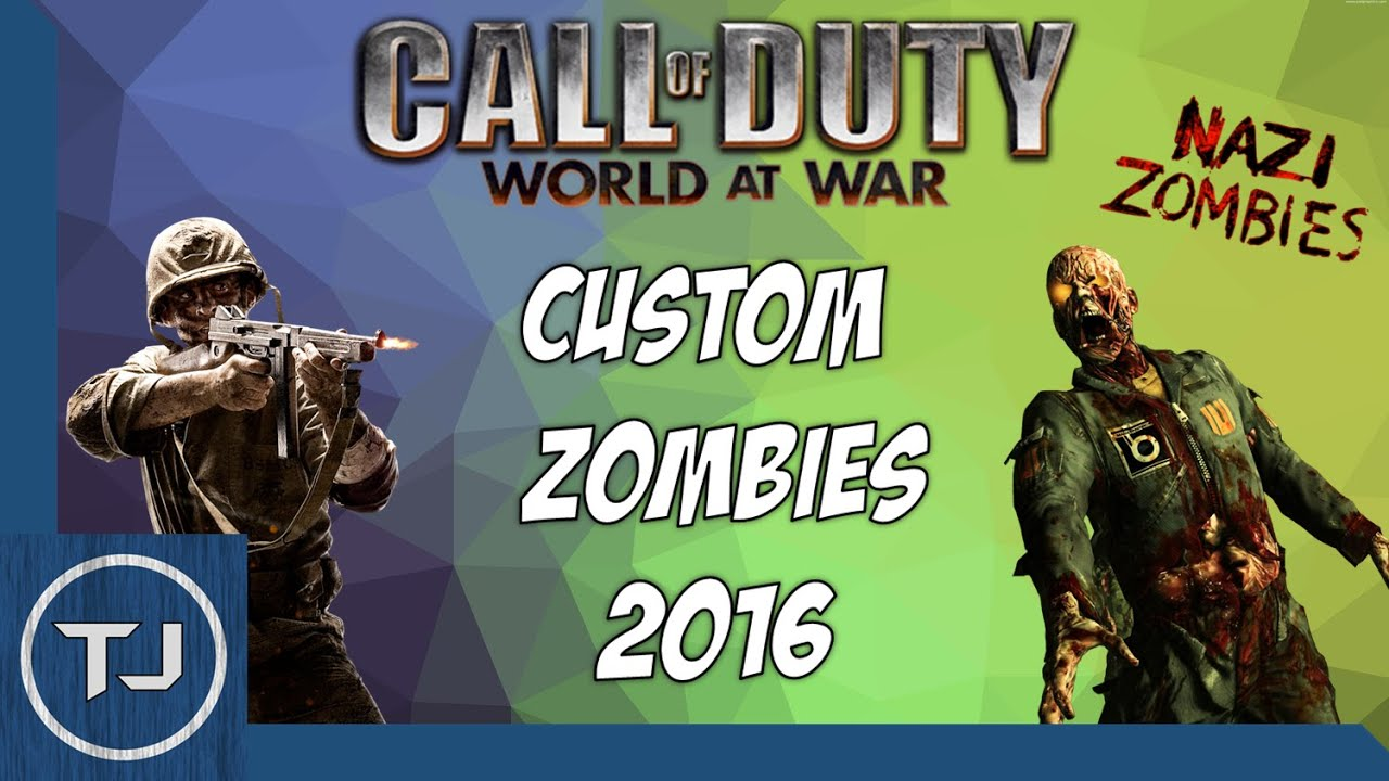 Call Of Duty World At War: Download/Install Custom Zombie Maps 2017!