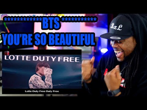 BTS | YOU'RE SO BEAUTIFUL MV | REACTION!!!