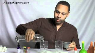 PowerpH Alkaline Water Drops Test