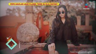 ¿A qué se dedica la hija mayor de Pepe Aguilar? | De Primera Mano