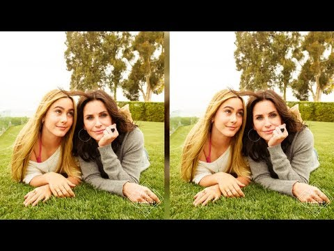 Watch Courteney Cox's Daughter Coco Shows Off Her Singing Talent During Snow Patrol Duet  - News 247 Mp3