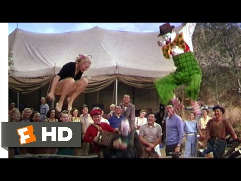 The Greatest Show on Earth (6/9) Movie CLIP - Be a Jumping Jack (1952) HD