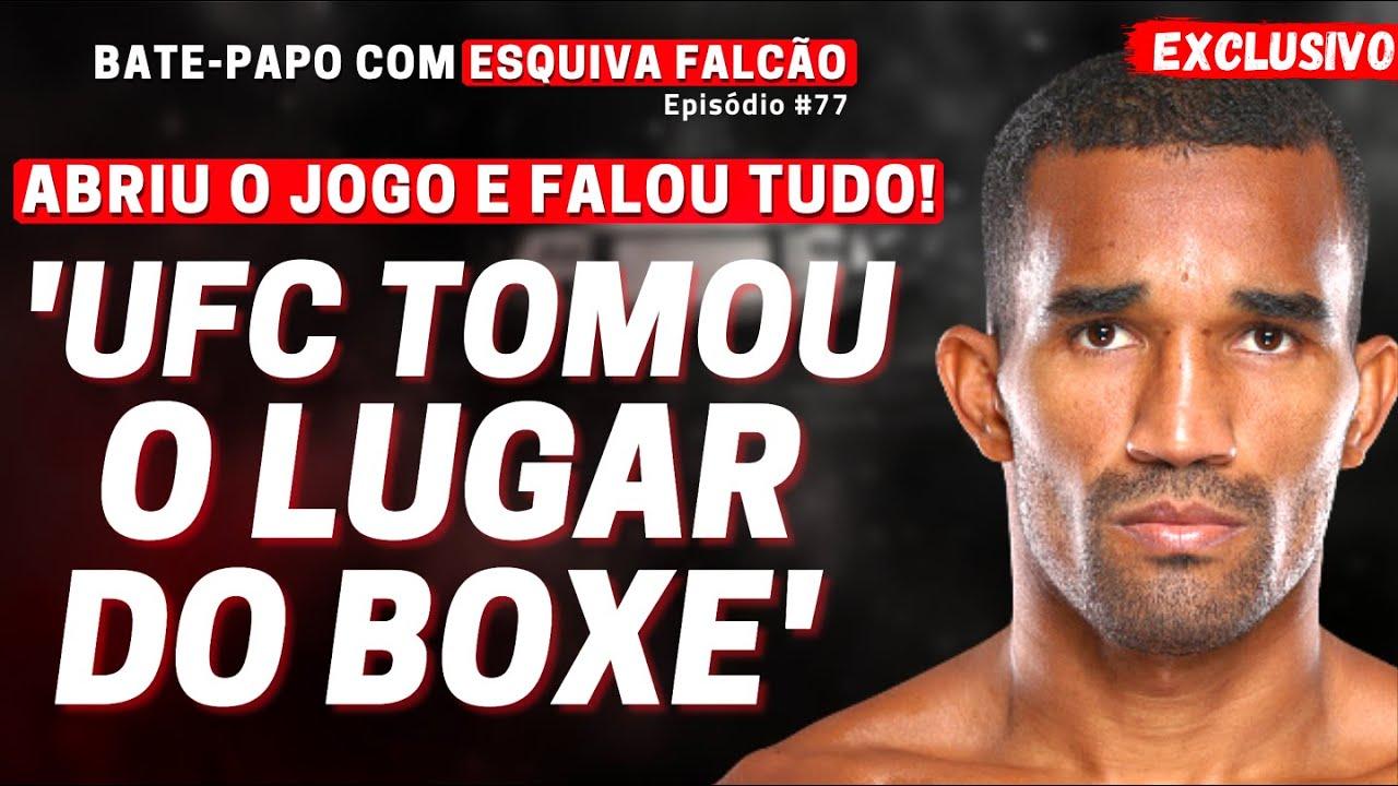 EXCLUSIVO! Esquiva Falcão desabafa, relata dificuldades e avalia bom momento do boxe brasileiro