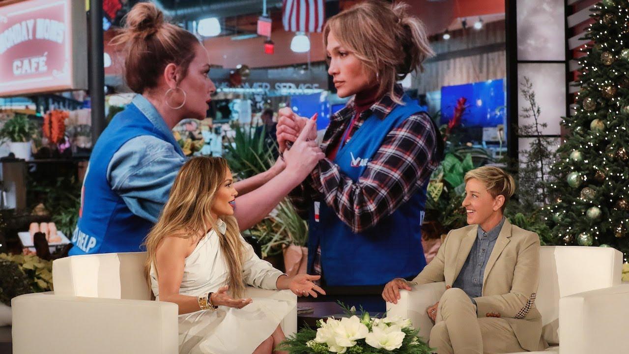 Download Jennifer Lopez Was Surprised by Her Friend Leah Remini's Onscreen Slaps