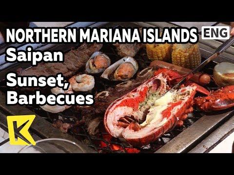 【K】Northern Mariana Islands Travel-Saipan[북마리아나제도 여행-사이판]선셋, 바비큐 파티/Sunset/BBQ/Pacific Islands