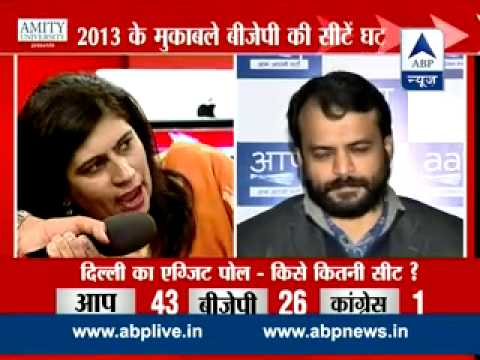 ABP News-Nielsen Exit Poll ll AAP set for a sweeping victory in Delhi