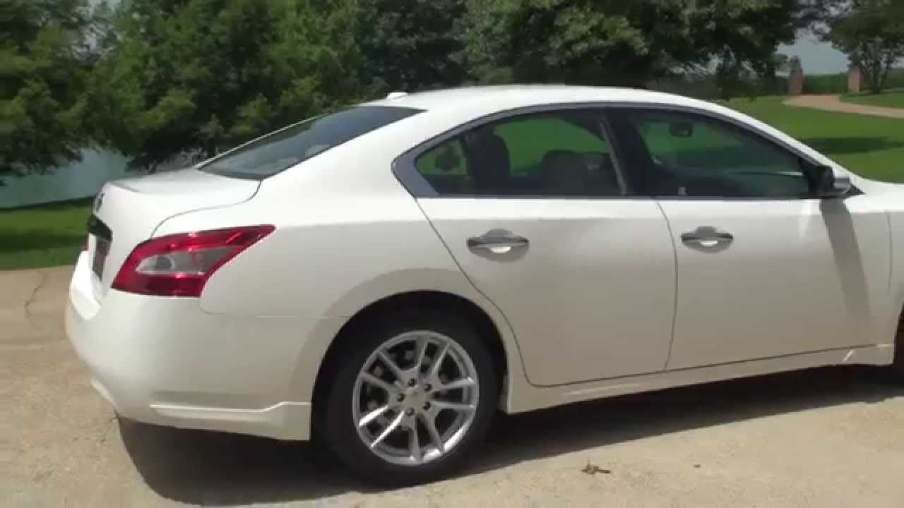 Hd Video 2011 Nissan Maxima Sv White For Sale See Www