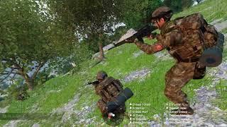 Arma 3 57. Alay 125 kisilik TERÖR kampına 10 komando ile Operasyon