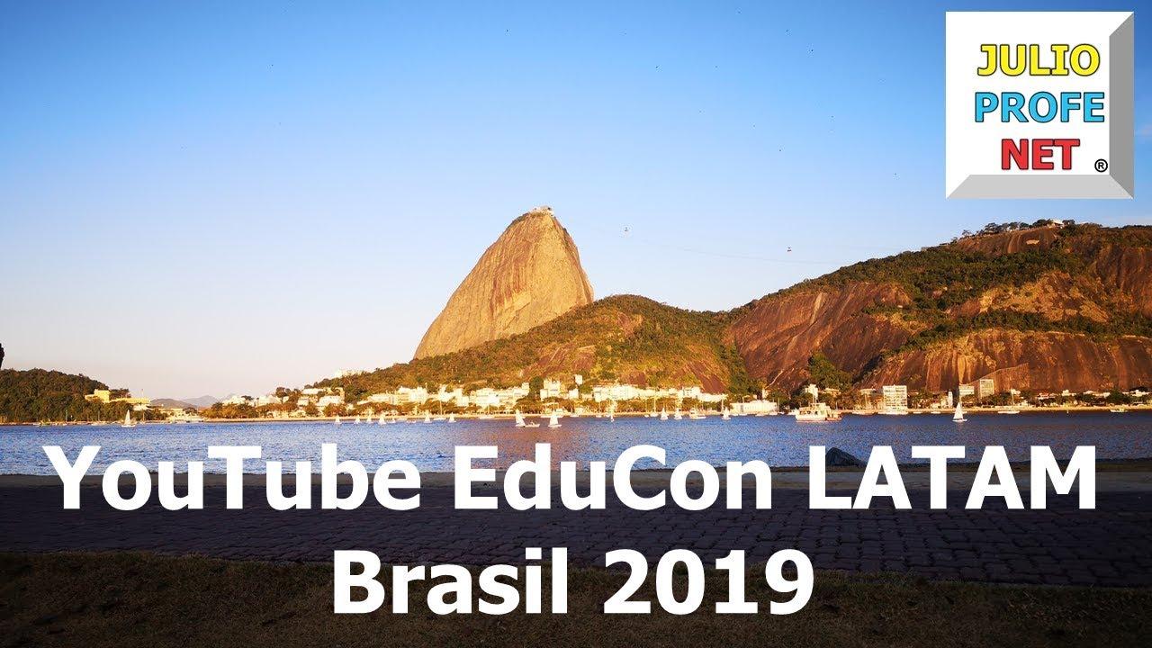 YouTubeEduCon LATAM 2019 Brasil