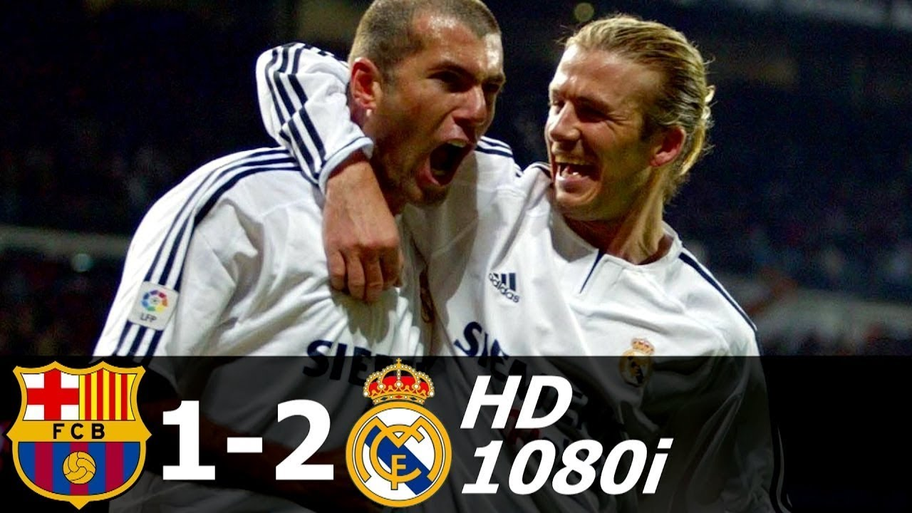 Download FC Barcelona vs Real Madrid 1-2 All Goals and Extended Highlights 2003-04 HD 1080i