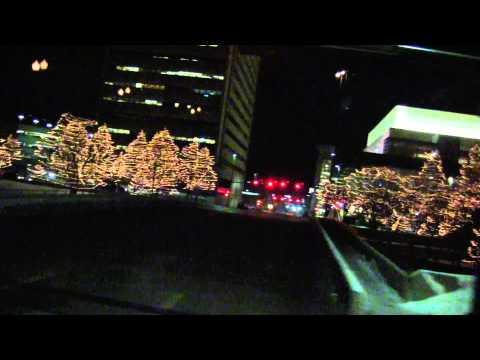 2012 Christmas lights tour-Omaha NE-downtown-PART II
