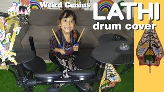 LATHI - Weird Genius ft. Sara Fajira Drum Cover