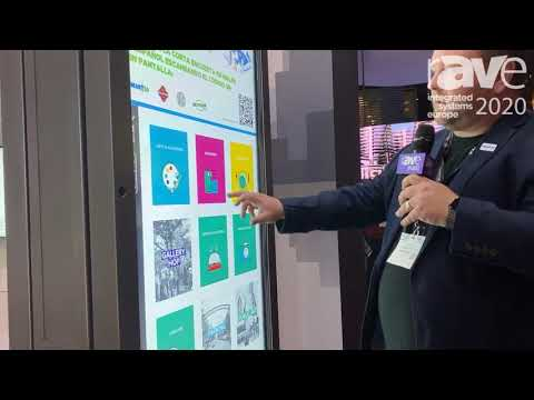 ISE 2020: DynaScan Demos DO Series of Outdoor Displays