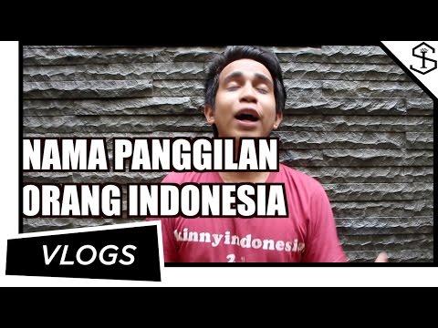 NAMA PANGGILAN ORANG INDONESIA