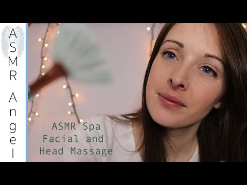 [ASMR] Relaxing Spa Facial Treatment & Head Massage - Role Play