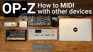 OP-Z MIDI - How to connect to other devices