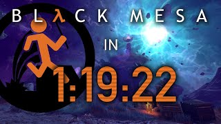 [WR] Black Mesa NoVoidclip speedrun in 1:19:22