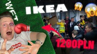 STALI PONAD 12 GODZIN POD IKEA ABY DOSTAĆ LIMITOWANY DYWAN I ZEGAR *BILI SIĘ* Ikea x Virgil MARKERAD