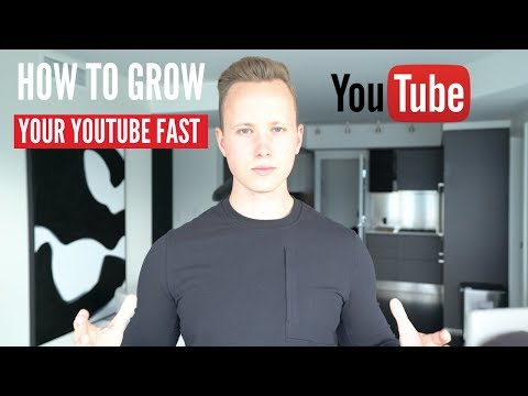 How To Grow Your Brand New YouTube Channel FAST (3 BEST WAYS)
