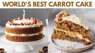 Worlds Best Carrot Cake  My Lock Down Birthday Cake  whole wheat carrot cake recipe