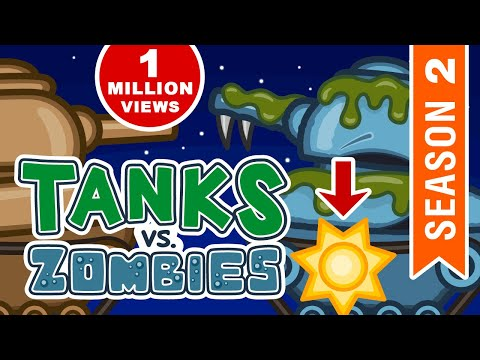 All episodes of Season 2 about Zombie Virus. Apocalypse World. Cartoons about Tanks