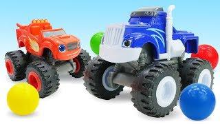 Машинки для детей. Игрушки Вспыш, друзья МАШИНКИ и гонки. Крушила стал ОГРОМНЫМ