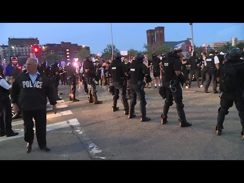 VIDEO NOW: Arrests Made At Protest Outside Providence Police Department
