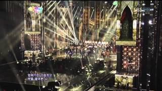 인피니트 (INFINITE) [추격자 (The Chaser)] @SBS 2012 가요대전 The Color of K-pop 20121229