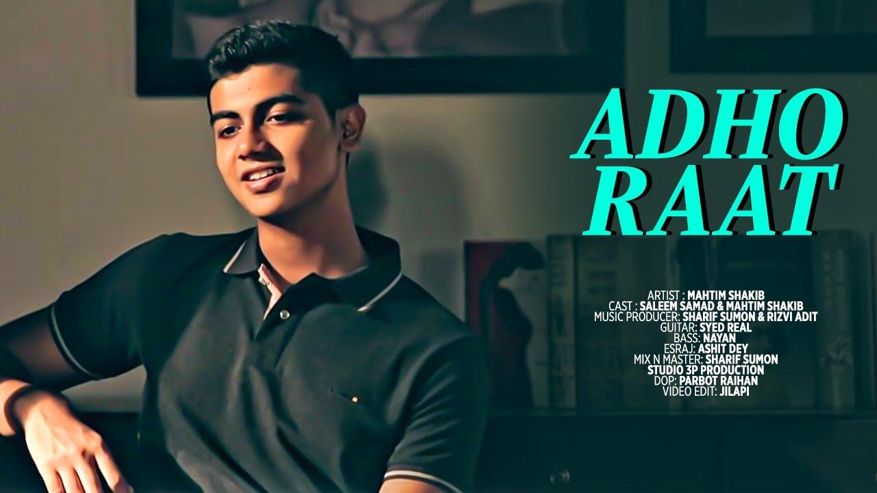 Adho Raat | Talat Mahmood | Cover | Mahtim Shakib